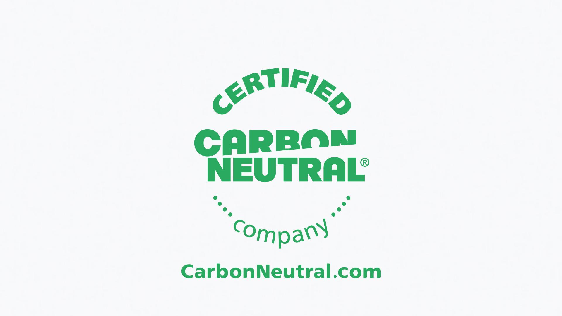carbon neutral award